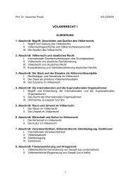 Voelkerrecht I.pdf - Walther-Schücking-Institut für Internationales Recht