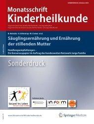 Säuglingsernährung und Ernährung der stillenden Mutter - Familien ...