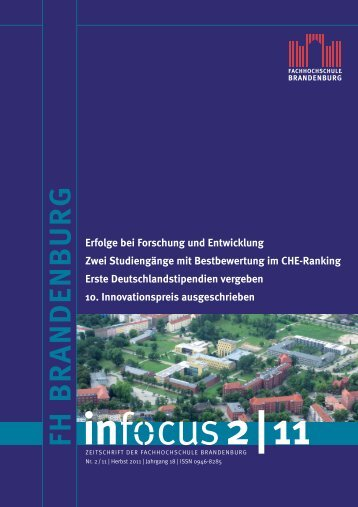 than 5000 innovations and a large job market - Fachhochschule ...