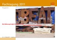 Fachtagung 2011