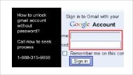 how to unlock gmail account without password 1-888-201-3827