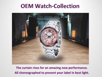 OEM Watch Catalogue 2018
