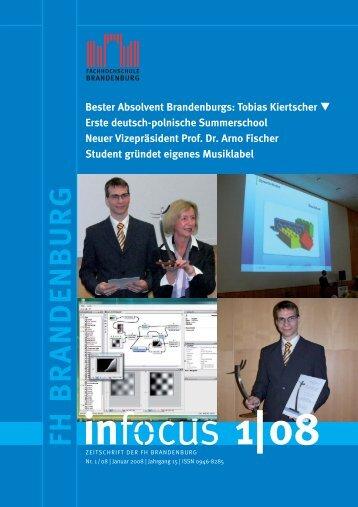 Bester Absolvent Brandenburgs - Fachhochschule Brandenburg