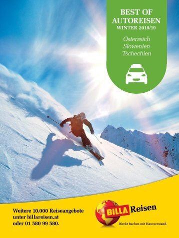 ITS Billa Reisen Winterkatalog 2018/19 - Best of Autoreisen