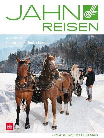 Jahn Reisen Austria Winterkatalog 2018/19 Österreich | Deutschland