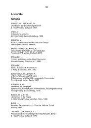 5. Literatur - Technische Akustik