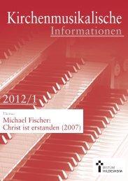 Michael Fischer: Christ ist erstanden - Bistum Hildesheim