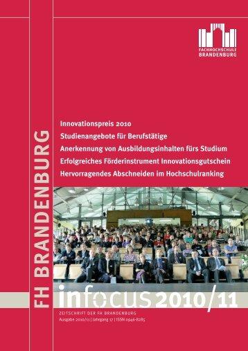 FH B R A N D EN B U R G - Fachhochschule Brandenburg
