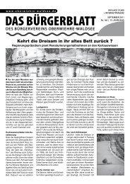 Schlagzeilen der Päpste - Bürgerverein Oberwiehre-Waldsee