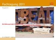 Fachtagung 2011 - BAG Wohnungslosenhilfe eV
