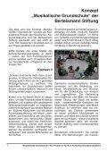 """Dokumentation """"Musikalische Grundschule"""" - kultkom.de - Seite 6"""