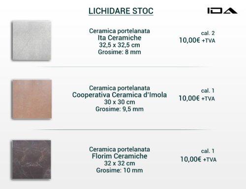 Lichidare stoc IDA Design - Gresie