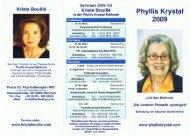 Phyllis Krystal.pdf - Treffpunkt Gesundheit