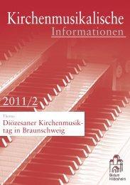 Musikalische Gestaltung der Gottesdienste - Bistum Hildesheim