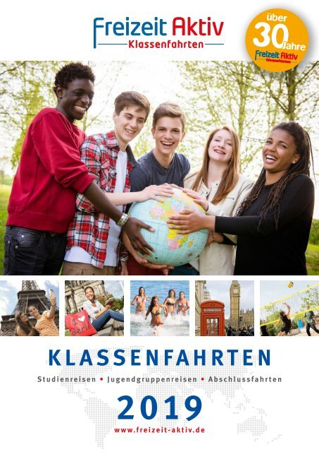 Freizeit-Aktiv Klassenfahrten Katalog 2019