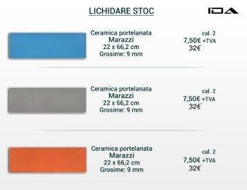 Lichidare stoc IDA Design - faianta