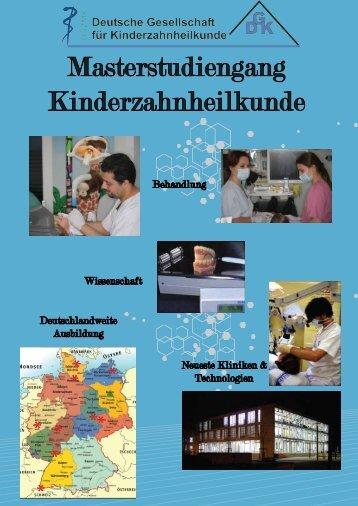 Masterstudiengang Kinderzahnheilkunde