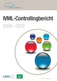 IVML-Controllingbericht - Kompetenznetz Maligne Lymphome