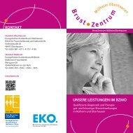 unser leistungsspektrum - Brustzentrum Mülheim Oberhausen