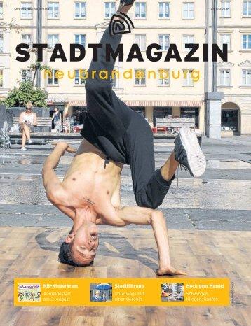 Stadtmagazin August 2018