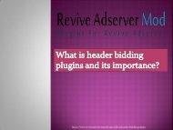 header bidding plugins