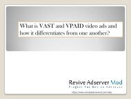 what is VAST and VPAID ads plugin