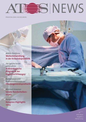 Fachbeiträge - und Fußchirurgie