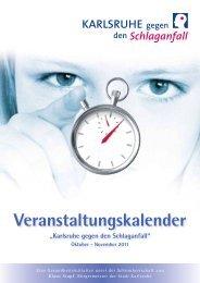 Veranstaltungskalender - Städtisches Klinikum Karlsruhe