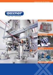 Daxner-Firmenfolder-Schüttgut Technologie