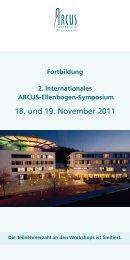 18. und 19. November 2011 - Arcus Sportklinik