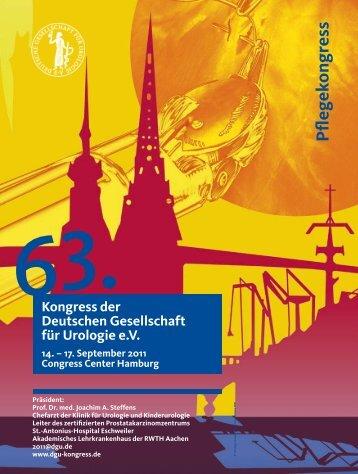 Kongresses der Deutschen Gesellschaft für ... - DGU-Kongress