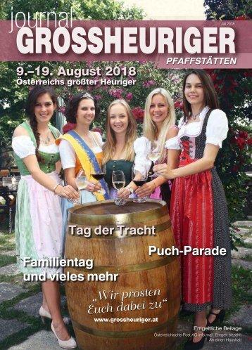 Journal Grossheuriger Pfaffstaetten 2018-07-26