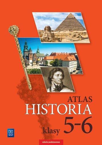 Historia. Atlas klasy 5-6