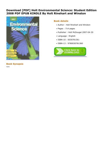 Holt-Environmental-Science-