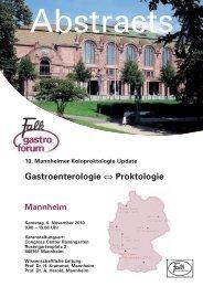 Proktitis – aus gastroenterologischer Sicht - Dr. Falk Pharma GmbH