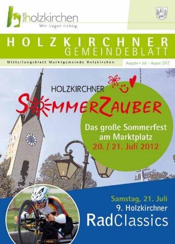 Ausgabe • Juli – August 2012 - Holzkirchen