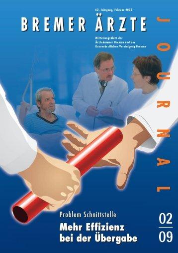 Schnittstellen im Gesundheitswesen - Ärztekammer Bremen