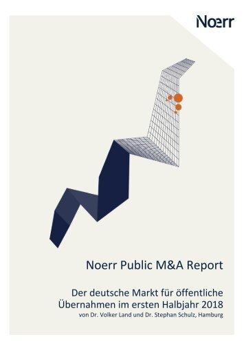 Public M&A Report H1/2018