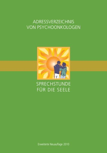 Adressverzeichnis Psycho-Onkologen - medizin-telegramm
