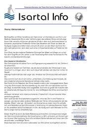 Isartal Info - Isartal Praxis-Klinik