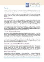 Facelift - Praxisklikik für plastische und ästhetische Chirurgie
