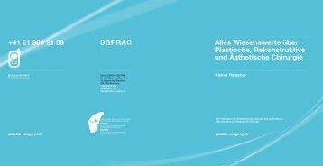 Alles Wissenswerte über Plastische, Rekonstruktive und ... - SSCPRE