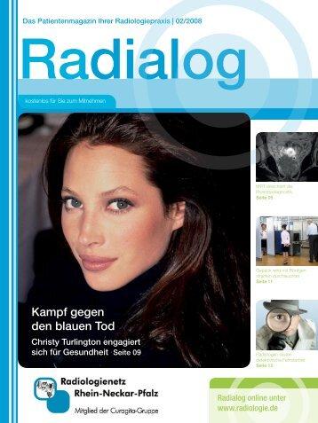 Ausgabe 02/2008 - Radiologie.de