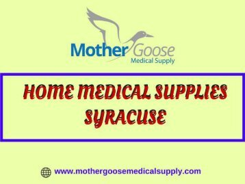 """Looking for """"Home Medical Supplies Syracuse"""", USA"""