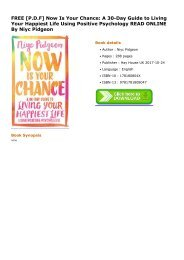 Now-Is-Your-Chance-A-30Day-