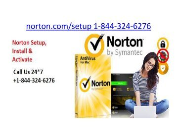Norton.com/Setup | 1 844-324-6276 | Norton online security