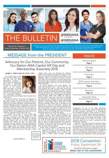 The Bulletin - August 2018