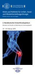 Klinik und Poliklinik für Unfall-, Hand- und ... - AGA