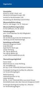 Klinik und Poliklinik für Unfall-, Hand- und ... - AGA - Seite 7