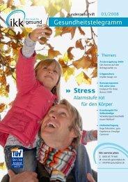  Stress - IKK gesund plus